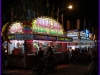 Food Stands at Night