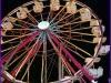 Century Wheel at Night